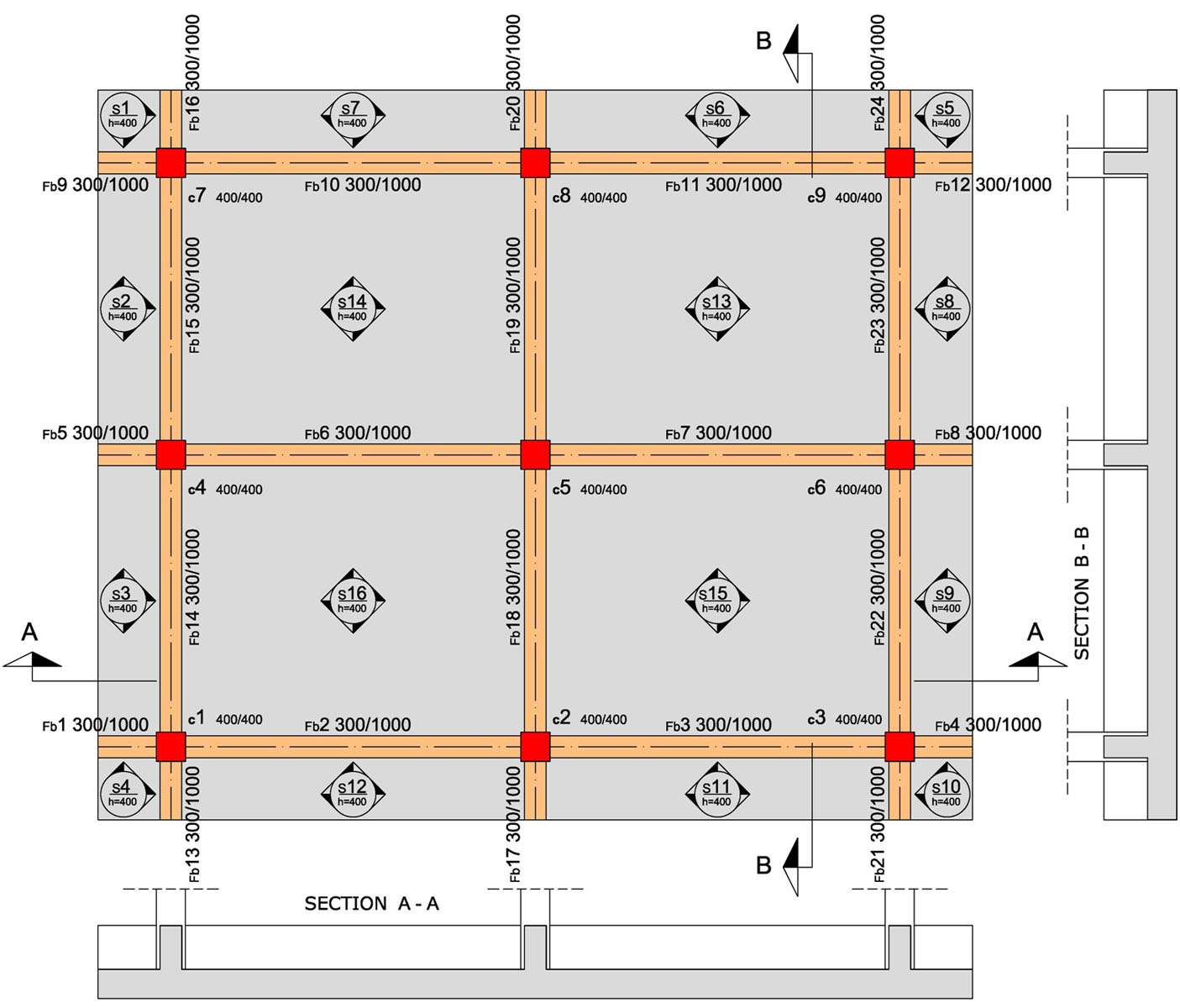 In Ground House Plans Raft Foundation Engineering Feed