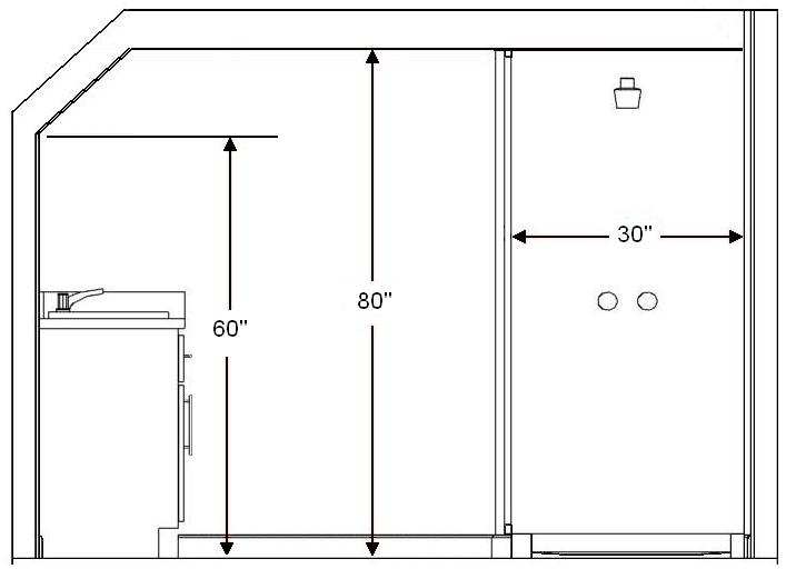 Standard Bathroom Rules And Guidelines With Measurements Engineering Feed