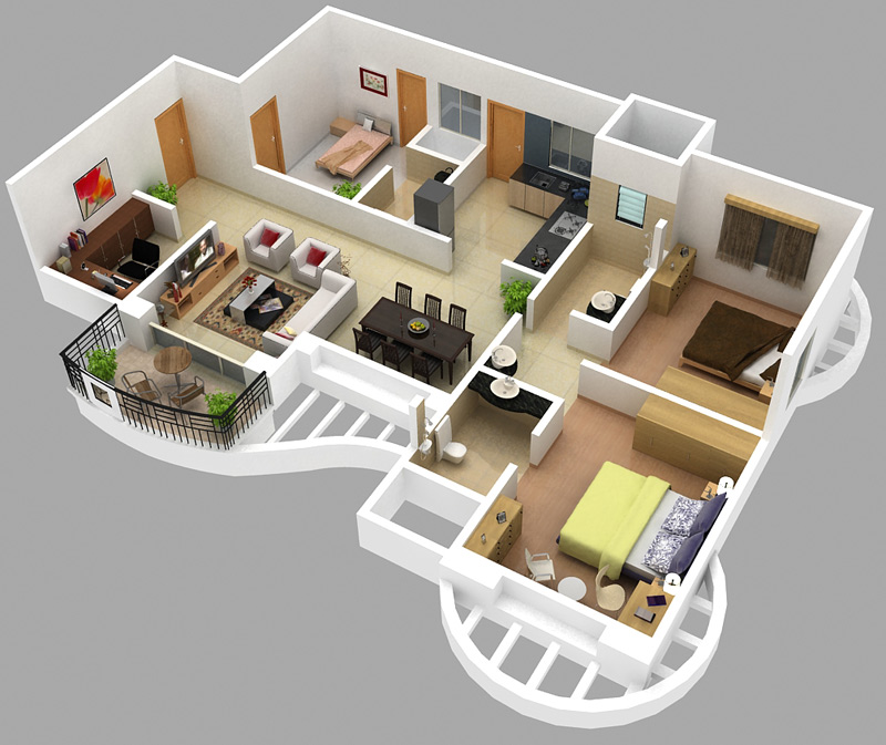 2 Bhk Home Design Part - 28: Engineering Feed