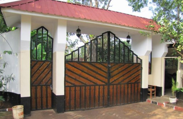 Gates Design That are Impossible to Resist 1 2 - 48+ Simple Gate Design For Small House PNG