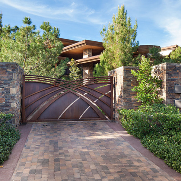 Impressive gate designs that are impossible to resist for Modern house entrance gate designs