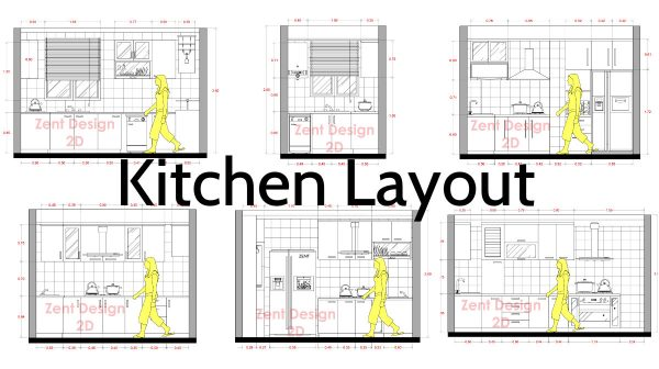 Kitchen Layouts And Dimensions Of The Most Important Room In The House