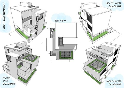 Google sketchup and all the work you can do with it for Plan maison google sketchup