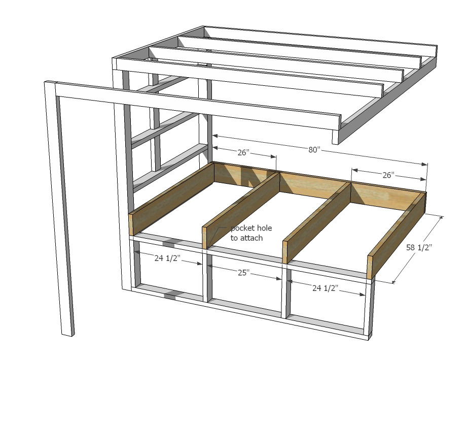 A Loft Bed That Is So Much More Than Just Bed Full Plan