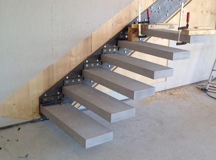 Practical Cantilever Stairs Construction Step by Step 1 2