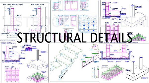 Structural Details Of Stair Construction Process