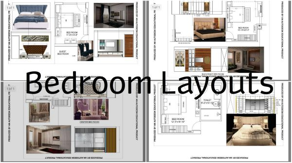 see these bedroom layouts that will help you make a good plan how to arrange the bedroom - Bedroom Layouts