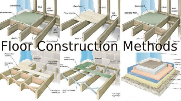 Important methods for floor construction engineering feed for Floor joist construction