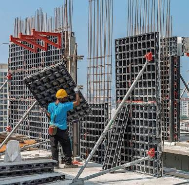Different Types Of Formwork Found In The Construction Site
