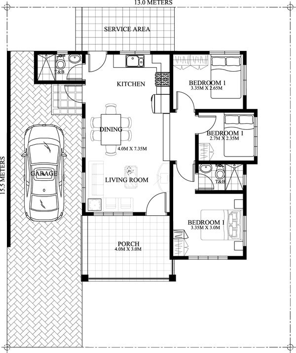 small-house-floor-plan-4 - Engineering Feed