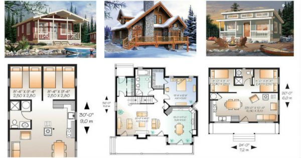 Functional house plans for different types of houses for Home design engineer
