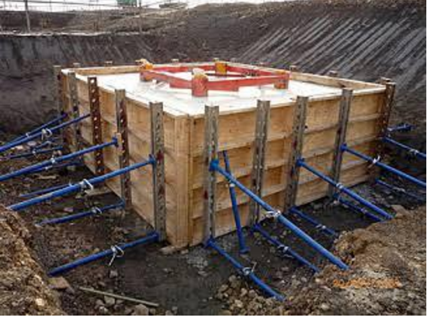 Vertical Shuttering Plywood For Wall : Shutering methodology engineering feed