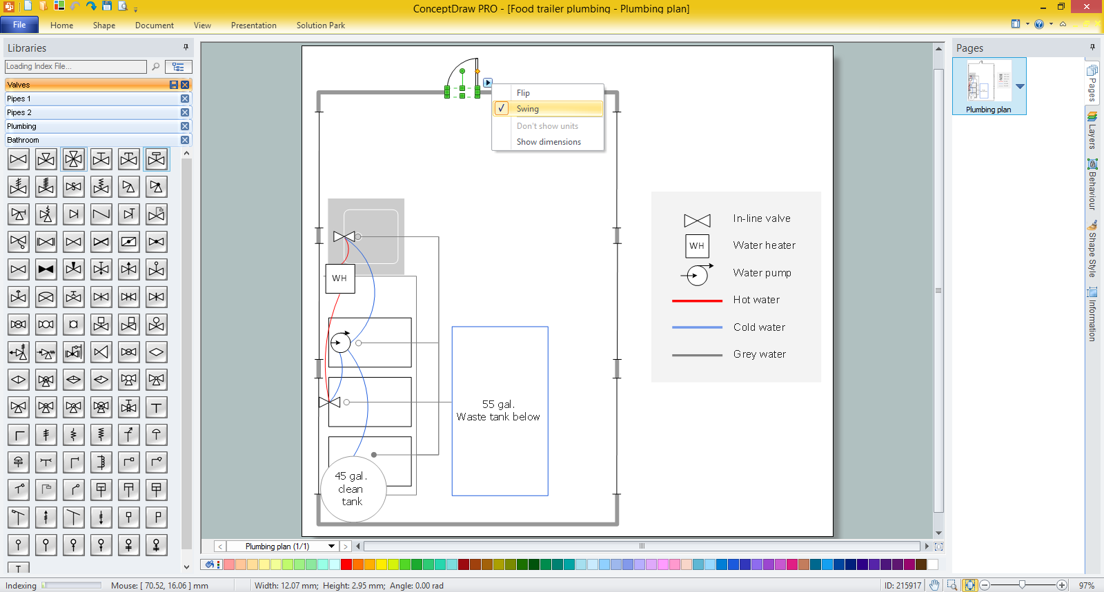 Free plumbing schematic drawing software circuit and Art design software