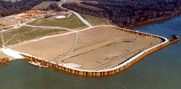 Cofferdam Cellular Cofferdams Engineering Feed