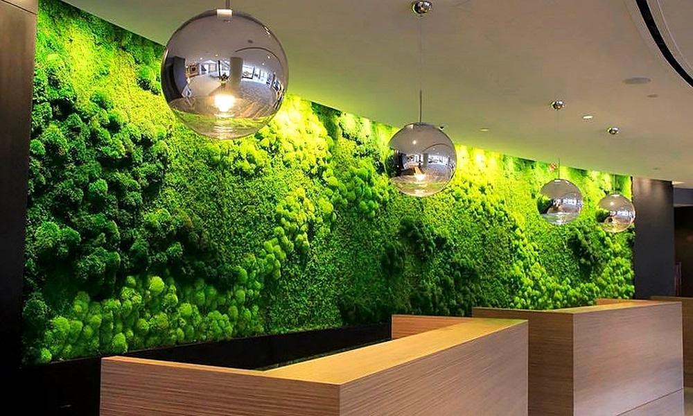 Moss Tiles For Interior Walls