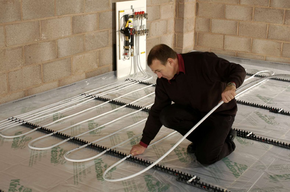 How To Install Wet Underfloor Heating Engineering Feed