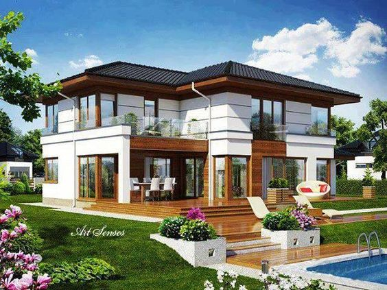 Modern Country House Design - Engineering Feed