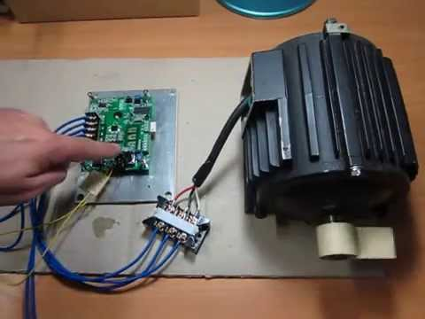 Induction motor speed control inverter module for Three phase motor speed control