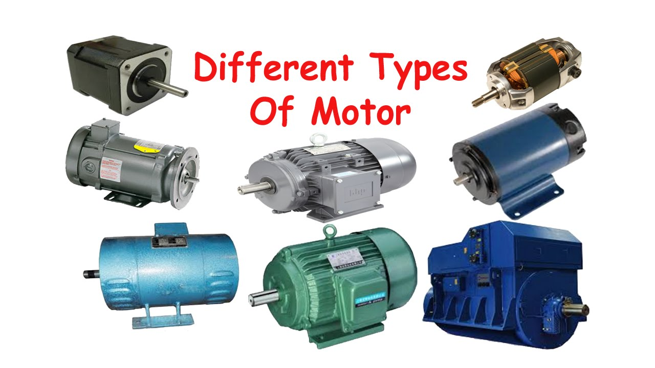 Types of an electric motors engineering feed for Turn an electric motor into a generator