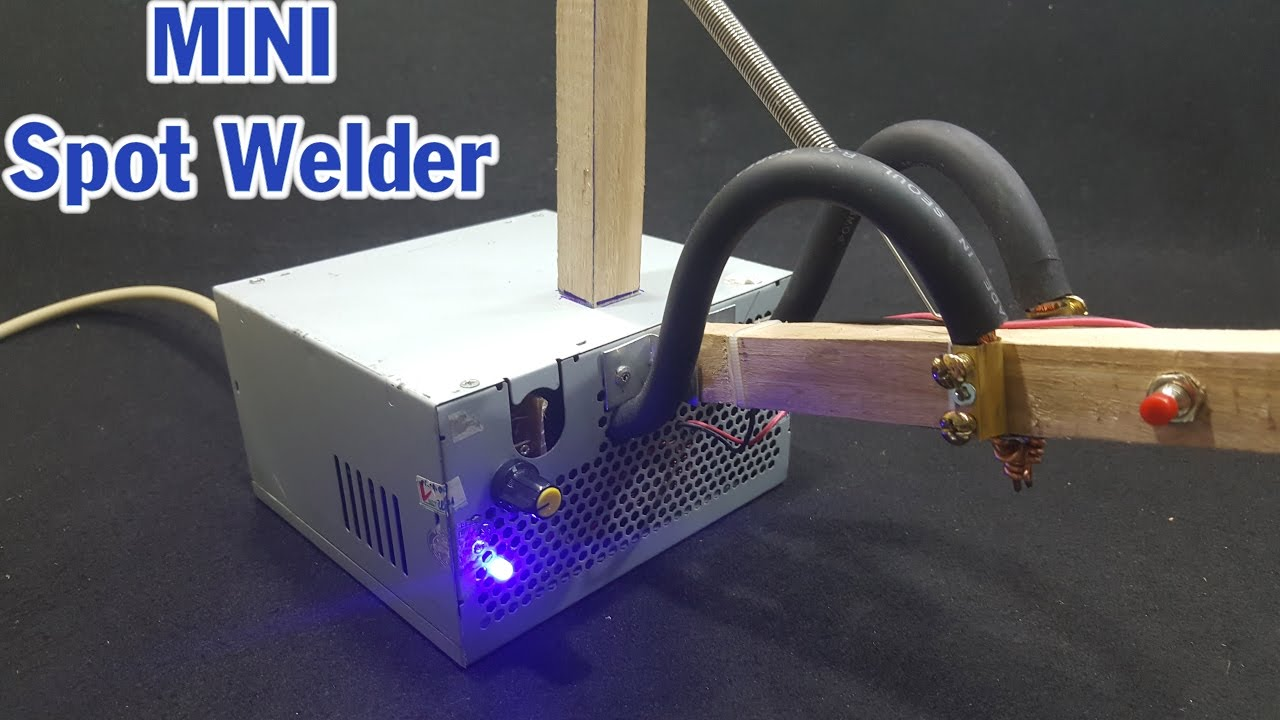 How To Make Mini Spot Welder Using Old Microwave