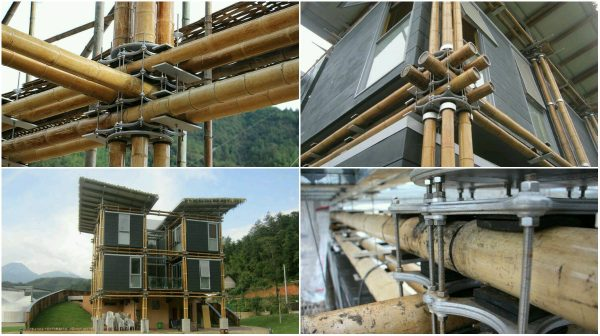 Energy Efficient Bamboo House For Sustainable Growth Of