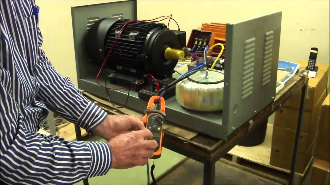 THREE PHASE POWER FOR 4KW MOTOR FROM 24V DC BATTERY