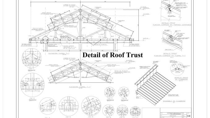 Detail Of Roof Trust Engineering Feed