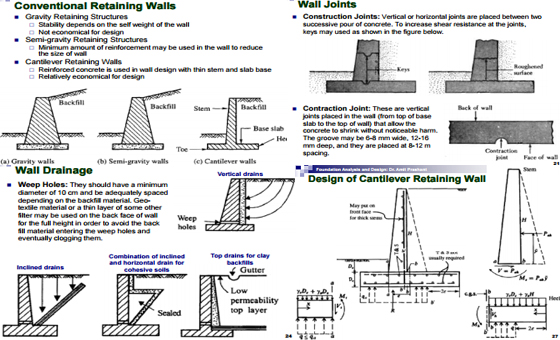Design-Of-Retaining-Wall - Engineering Feed