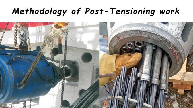 Post Tensioning Bar : Methodology of post tensioning work engineering feed
