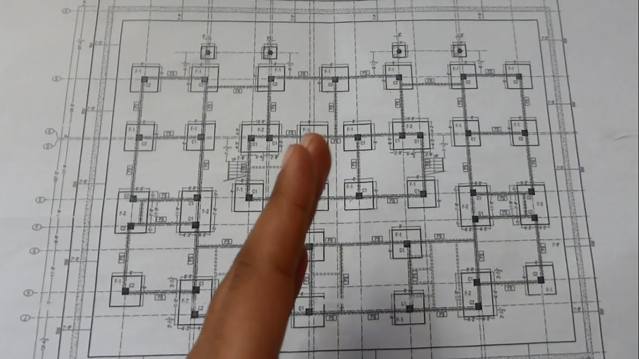 Learn How To Read Building Foundations Drawing Plans