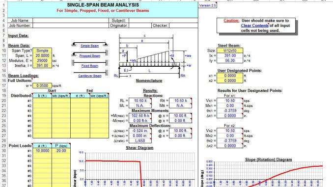 Download Single And Continuous Span Beam Analysis